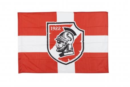Флаг Крест с гладиатором