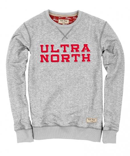Свитшот ULTRA NORTH-Серый-XXL