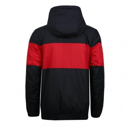 Куртка утепленная Найк сезон 2019-2020-Красно-черный-S