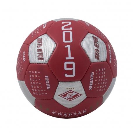 Сувенирный мяч-календарь на 2019г.