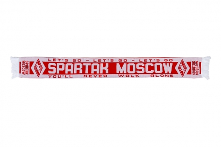 Шарф Let's go Spartak