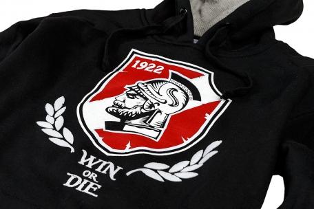 Толстовка Win or Die-Черный-XS