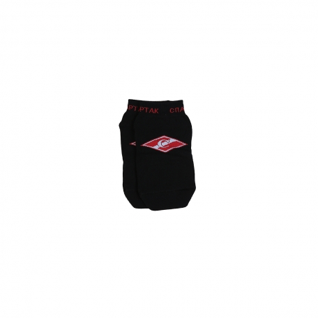 Носки короткие с ромбом-Черный-34-36