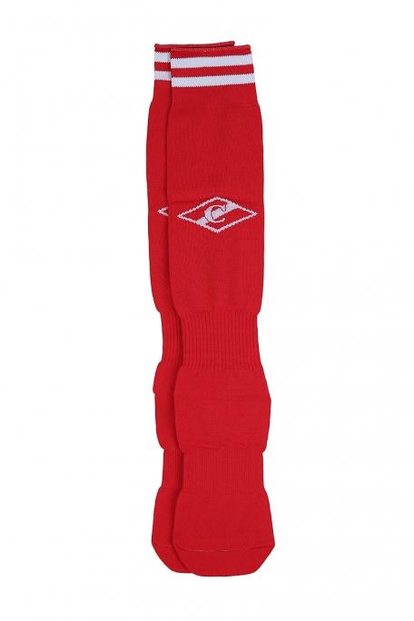 Гетры красные с ромбом-Красный-37-39