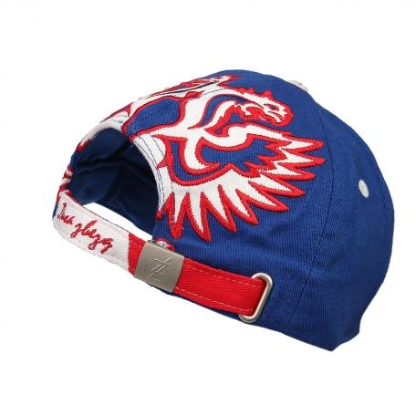 Бейсболка Россия синяя