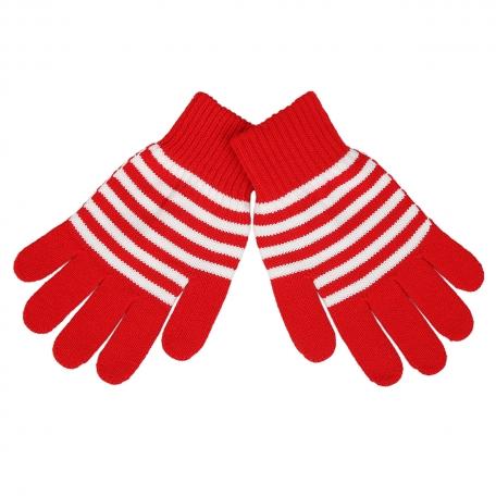 Перчатки полосатые мужские