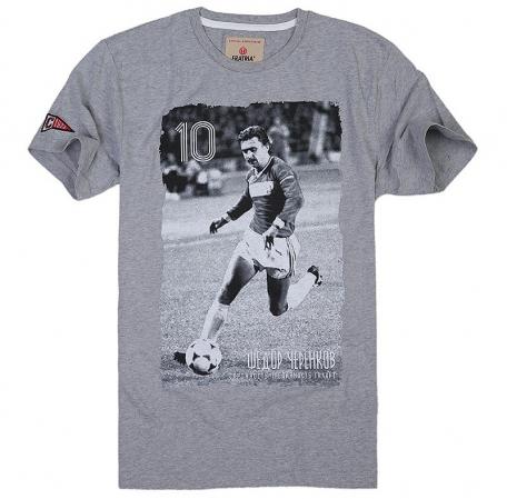 Футболка Черенков-Серый-S