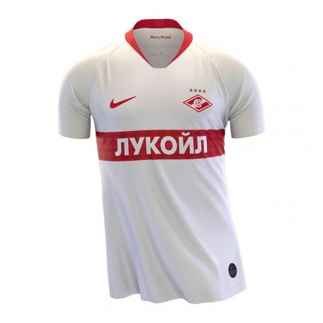 Майка игровая выездная NIKE сезон 2019-2020-Белый-S