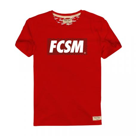 Футболка FCSM red dazzle-Красный-S