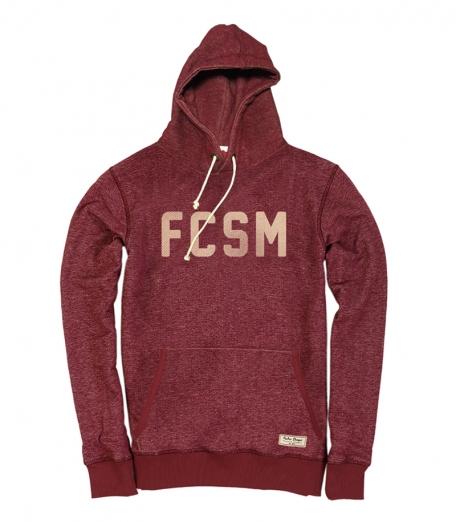 Толстовка FCSM-Красный-S