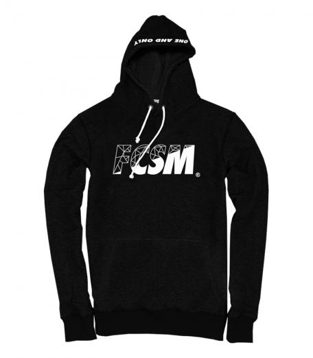 Толстовка FCSM черная-Черный-S