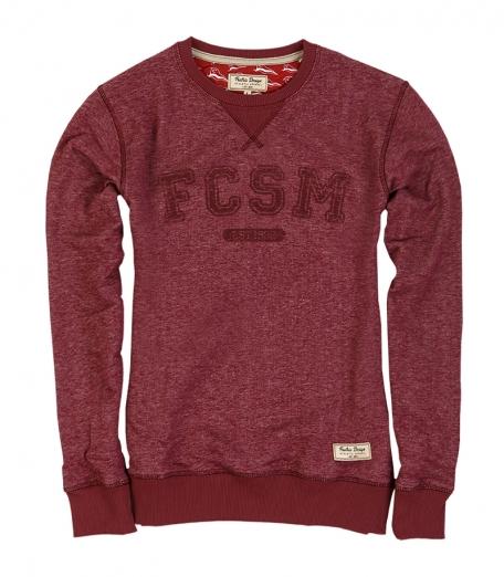 Толстовка FCSM женская-Красный-XS