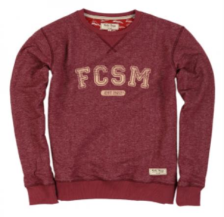 Свитшот детский FCSM 1922-Красный-98 см