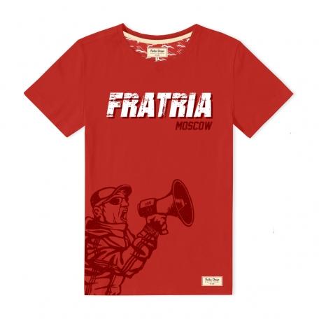 Футболка FRATRIA MOSCOW-Красный-S