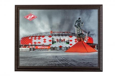 Гравюра Стадион
