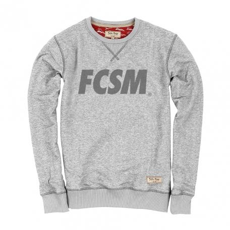 Свитшот FCSM рефлектив-Серый-S