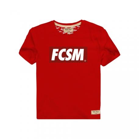 Футболка детская FCSM-Красный-92 см