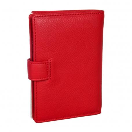 Обложка для паспорта и автодокументов Спартак красно-белая