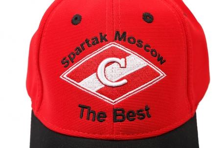 Бейсболка Spartak the Best красная