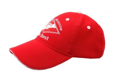 Бейсболка Spartak красная
