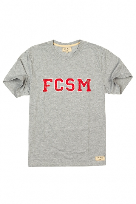 Футболка FCSM-Серый-XXL