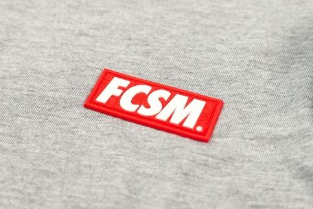 Футболка FCSM патч серая-Серый-XS