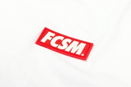 Футболка FCSM патч белая-Белый-XS