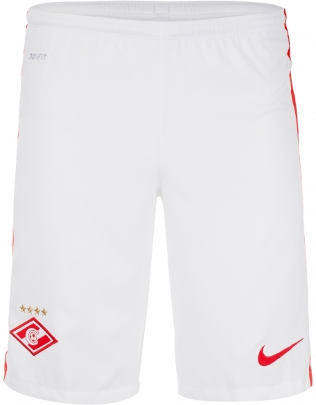 Шорты Nike Спартак Москва 2015-2016-Белый-XL