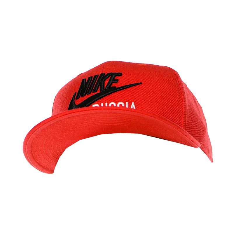 7b9a0a998569 Бейсболка Nike Russia красная красный купить за 790 рублей
