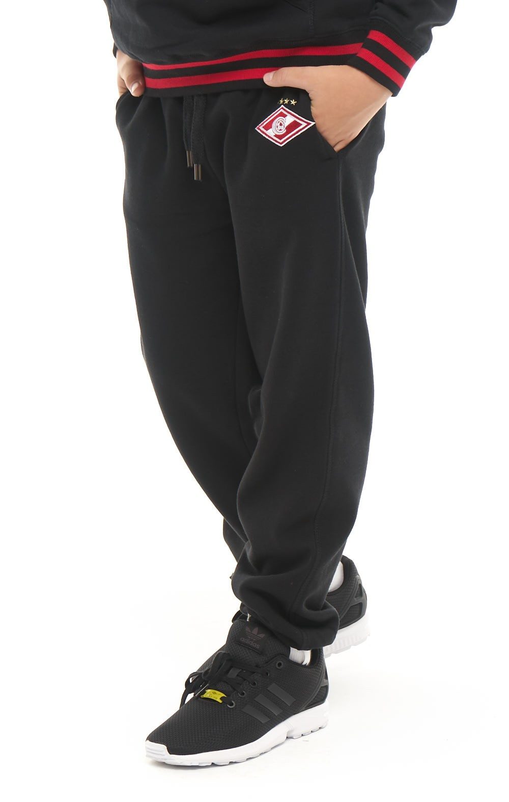 9d3bb392 Спортивные штаны подростковые FCSM черный купить за 2790 рублей
