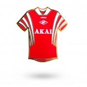 Значок форма AKAI красный