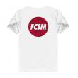 Футболка FCSM circle белая-Белый-S