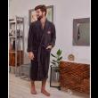 Халат мужской-Серый-XL муж