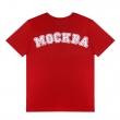 Футболка ромб Москва-Красный-XS