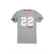 Футболка  FCSM 22-Серый-XL