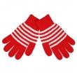 Перчатки полосатые женские