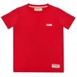 Футболка детская патч красная-Красный-92 см