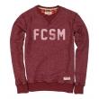 Свитшот FCSM бордовый-Красный-S