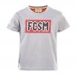 Футболка детская FCSM-Серый-86 см