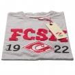 Футболка серая FCSM 1922-Серый-XL