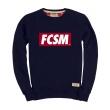Свитшот FCSM синий-Синий-S