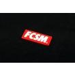 Футболка FCSM патч черная-черная-XS