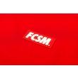 Футболка FCSM патч красная-Красный-XS