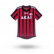 Значок форма AKAI красно-черный