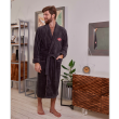 Халат мужской-Серый-L/XL муж